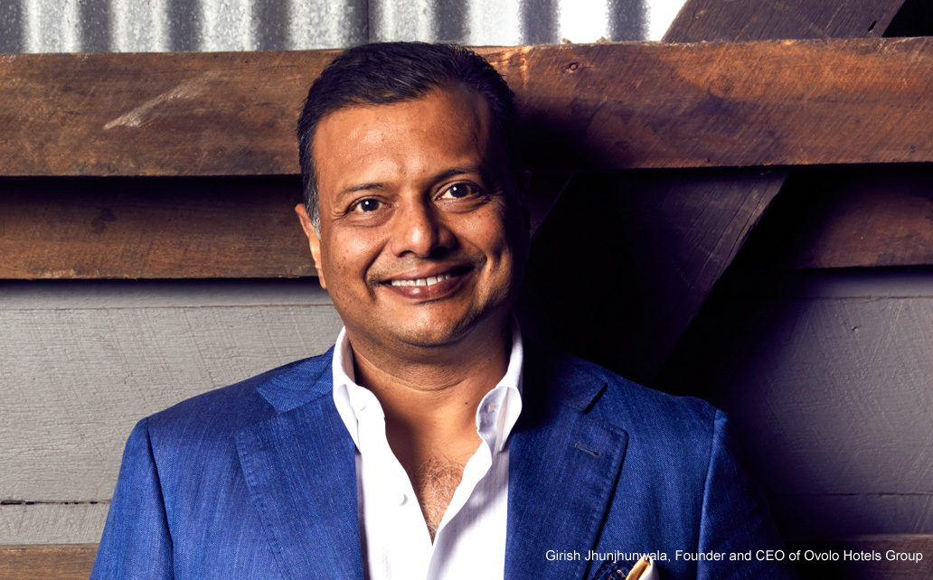 Girish Jhunjhunwala, Founder and CEO of Ovolo Hotels Group